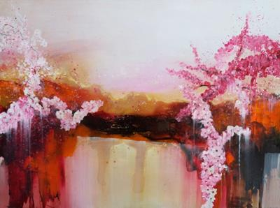 Cherry Blossom II by Jane Kellahan