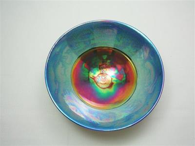 Blue Lustre Bowl 6 by Danny Moorwood
