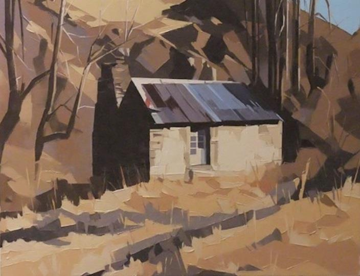 GILLIES, John - Stone Cottages, Skippers Canyon